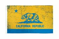 3x5 California Blue and Gold Flag 3'x5' Banner Grommets