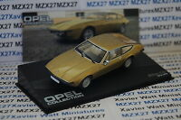 VOITURE OPEL COLLECTION N°48 BITTER CD 1973-1979  IXO EAGLE MOSS 1/43