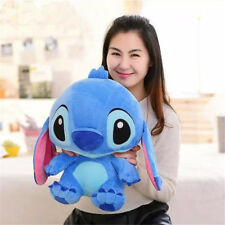 Hot Disney Cute Lilo & Stitch Plush Doll Blue Bear Soft Toy Birthday Gift 40cm