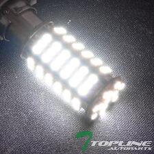 2x White Super Bright 1156 Ba15s 102p 3528 SMD LED Rear Turn Signal Light Bulbs