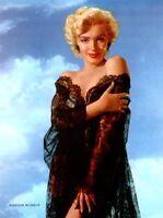 Marilyn Monroe 1953 Vintage Pinup Litho Bruno Bernard Promo Photo Publicity COA