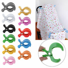 Toy Baby Car Seat Accessories Lamp Pram Stroller Peg To Hook Cover Blanket Clips