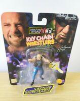 WCW/NWO Keychain Wrestlers Keyring Toybiz DDP Diamond Dallas Page New rare vtg