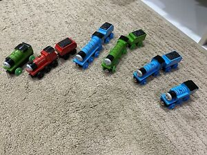 Thomas The Train Wooden Thomas Gordon Edward Percy James Henry Trains 1-6 Tender