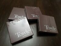 Towle Silversmiths Chrismas Ornament Gnome Lot, 4 Assorted