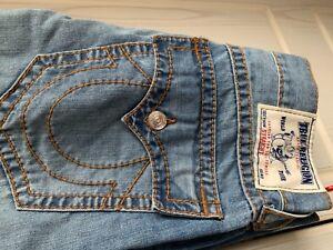 Mens True Religion Jeans Straight Cut 34 Waist