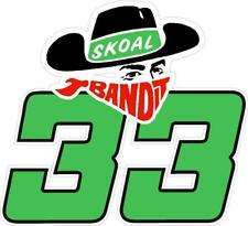 NEW FOR 2020 - #33 Harry Gant SKOAL BANDIT Racing Sticker Decal - SM thru XL