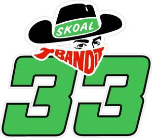 NEW FOR 2020 - #33 Harry Gant SKOAL BANDIT Racing Sticker Decal - SM thru XL