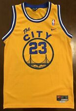 Rare Vintage Nike Nba Golden State Warriors Jason Richardson Basketball Jersey