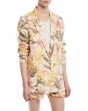 NWOT $298 Joie Kishina B Floral Linen Jacket 6