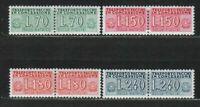 s33572a ITALIA MNH 1966/68 Trasporti in Concessione L.70+ L.150 +L.180+ L.240 4v