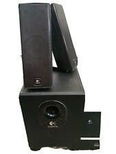 Logitech 2.1 Desktop Speaker System A716 Sound System Computer Audio laptop