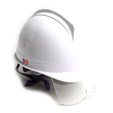 Construction Ratchet Hard Hat Safety Helmet White KOREA