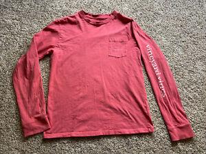 Vineyard Vines boys Girls Long Sleeve Graphic T-shirt Size Large Whale Logo
