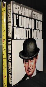 GG LIBRO: L'UOMO DAI MOLTI NOMI - GRAHAM GREENE - 1988 MONDADORI