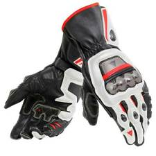 Dainese Full Metal 6 Gloves - White Red - MANY SIZES!