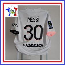 Maillot MESSI #30 PSG 2021-2022 Away Ligue 1 Paris Saint-Germain Shirt Camiseta