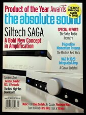 The Absolute Sound Magazine January 2014 Stereo Audio Siltech SAGA Speakers