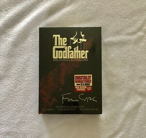 The Godfather The Coppola Restoration 5 DVD set 2008 SEALED w/ special features