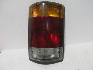 FORD VAN E-150 93 1993 3 BULB TAIL LIGHT DRIVER LEFT LH