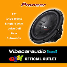 "Pioneer 12"" 30cm 1400 Watts SVC 4 Ohm High Quality Car Bass Subwoofer Deal Offer"