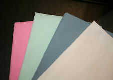 New Handmade Baby/Toddler Flat Sheets, set of 2, TEAL