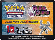 Pokemon ONLINE CODE Card for Machamp Prime, Royal Guard Deck, and 3 Boosters