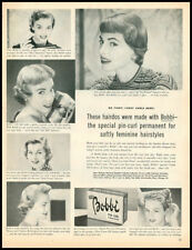 1955 vintage ad for Bobbi Pin-Curl Pemanent