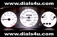 Honda civic eg modèles (1992-1995) - vtec/vti/lsi - 220km/h cadran blanc kit