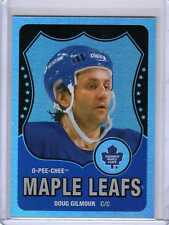 DOUG GILMOUR 10/11 OPC LEGEND Retro Rainbow Gold #555 O-Pee-Chee Hockey Card