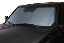 Heat Shield Sun Shade Fits 2013-2015 Toyota Land Cruiser Blue With Storage Bag