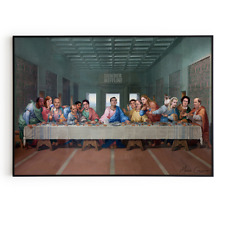 The Last Supper at Dunder Mifflin Poster - The Office TV Show Art Print
