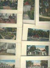 pc9800 postcard Mt. Vernon Virginia George Washington House TEN