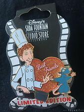 DSF Disney LINGUINI & REMY BEST FRIENDS Pixar Ratatouille LE 400 Pin Chef