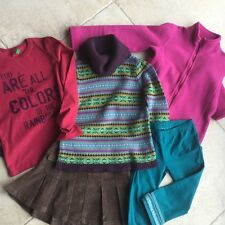 Lot fille GAP, Benetton 6-7 ans en TBE
