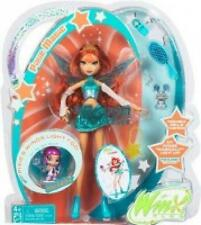 NEW WINX CLUB BLOOM DOLL AND FRIEND LOCKETTE WINGS LIGHT UP Mattel 2005