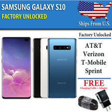 Samsung Galaxy S10 128GB UNLOCKED (CDMA + GSM) Verizon ATT T-Mobile Sprint