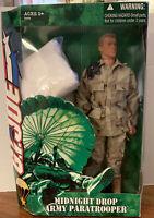 2005 Hasbro GI JOE MIDNIGHT DROP ARMY PARATROOPER