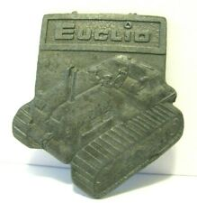 Pocket Watch Fob Top Filed Off Euclid 82-80 Crawler Tractor Dealer Advertising