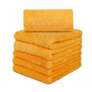 Super Thick Microfiber Plush Towel Cleaning No-Scratch Rag Polishing Detailing