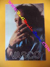 CARTOLINA PROMOZIONALE POSTCARD VASCO ROSSI Rock roll10x15cm no*cd dvd lp mc vhs