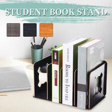 Book Stand Bookend School Student Office Desk File Folder Rack Holder   -) ❤