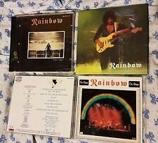 Rainbow 3cd -Live in Boston 1981-On stage (Japan)-Finyl vinyl (original press)