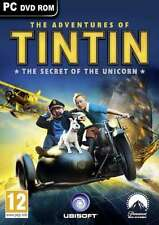 The Adventures of TINTIN The Secret of the Unicorn -  PC -  Brand New & Sealed