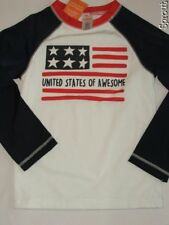 GYMBOREE 4th of July Patriotic swim rash guard top shirt 4 NWT United States