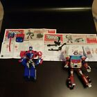 Transformer Optimus Prime And Ratchet Complete With  Instruction Manuals For Sale