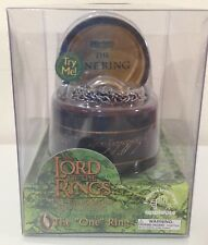 Lord of the Rings - Fellowship -  The One Ring in light up base with chain MIB