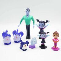 Disney Jr Vampirina Fangtastic Figures Lot of 6 Dog, Ghost, Dad Just Play