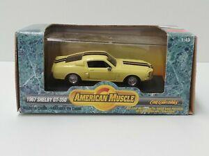1967 Ford Mustang GT-350 ERTL American Muscle Diecast Car 1/18
