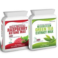 90 RASPBERRY KETONE AND 60 GREEN TEA EXTRACT PLUS FREE WEIGHT LOSS DIETING TIPS
